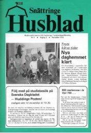 1981-2 - Snättringe fastighetsägareförening