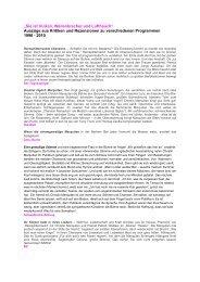 UMFANGREICHE PRESSESTIMMEN hier als PDF zum Herunterladen
