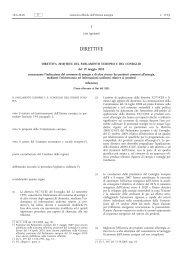 Direttiva 2010/30/UE del Parlamento europeo e del ... - EUR-Lex