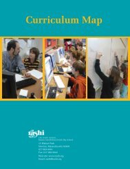 Curriculum Map - The Rashi School