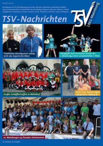 TSV-Nachrichten 4/2012 - TSV Mainburg