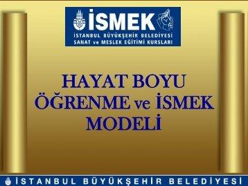 Eğitim - İSMEK - İstanbul Büyükşehir Belediyesi