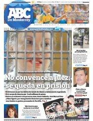 No convence a juez; se queda en prisión - Periodicoabc.mx