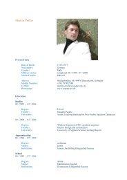 Resume 090803 En Pix - scapework