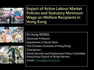 Category - hcyuen@swk.cuhk.edu.hk - The Chinese University of ...