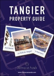 PROPERTY GUIDE - Morocco Property