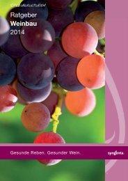 Ratgeber Weinbau 2014 - Syngenta