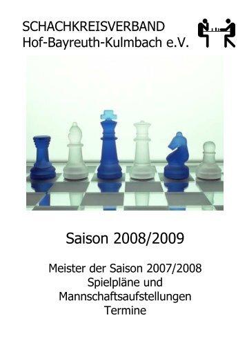 Verein PTSV-SK Hof 1892 - Schachkreise Hof-Bayreuth