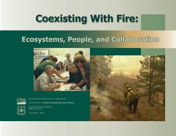 Coexisting with fire - Conservation Gateway