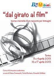 """""""dal girato al film"""" teoria e tecniche di un racconto ... - Edizioni Junior"""
