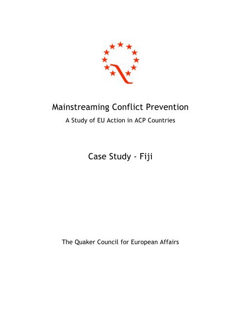 """""""A Study of EU Action in ACP Countires – Fiji Case Study"""" (pdf ..."""