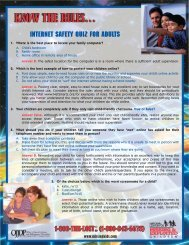 Internet Safety Quiz for Adults