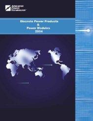 Power Modules - Elektronik Service