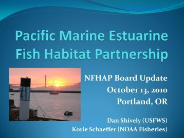 October 13, 2010 - Pacific States Marine Fisheries Commission