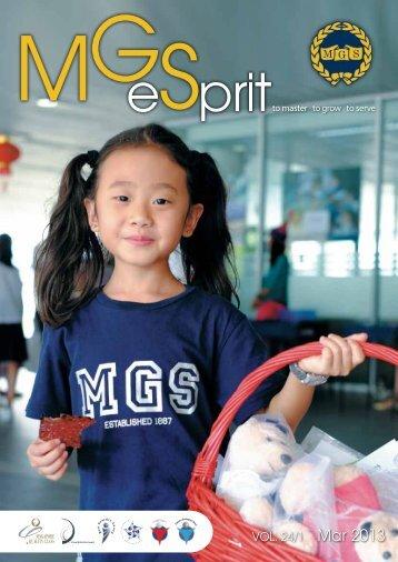 MGeSprit March 2013 - Methodist Girls' School