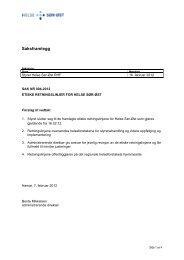 Etiske retningslinjer for Helse Sør-Øst