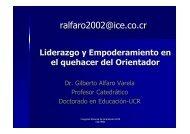 Liderazgo y empoderamiento profesional - Colypro
