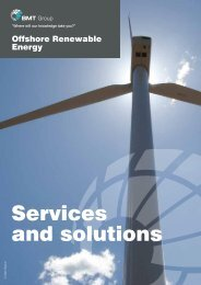 Services and solutions - BMT Group