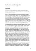 Tackling Poverty Action Plan - Page 4