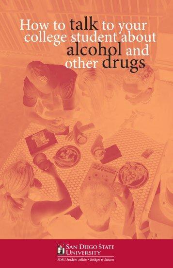alcohol and - SDSU Student Affairs - San Diego State University