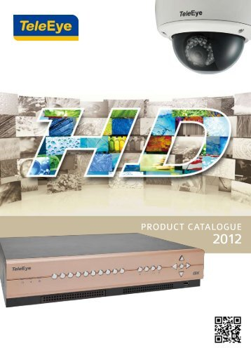 PRODUCT CATALOGUE - TeleEye