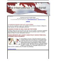 Septembre - Conseil international d'études canadiennes