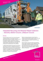 Integrated Recycling and Residual Waste Collection - East Midlands ...