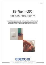 EB-Therm 200 - SB Golv & Kakel
