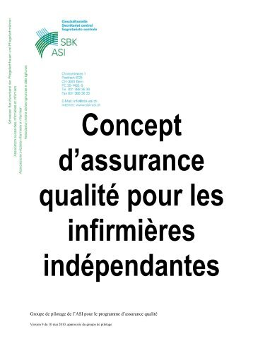 Qualitätskonzept für die freiberufliche Pflege in der Schweiz V9_ f