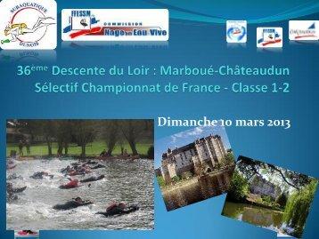 36ème Descente du Loir - Nage en Eau Vive
