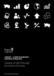A New Economic Growth Strategy - States of Jersey