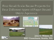 Four Small Scale Reuse Projects for Four - pncwa
