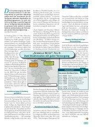 """""""Schnelle Netze"""", Teil 9: Zwei Stadtstaaten mit guter Versorgung"""