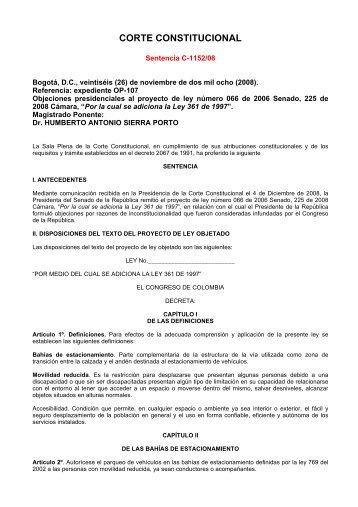 CORTE CONSTITUCIONAL - Camacol