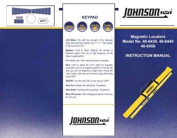 40-6440-English - Johnson Level