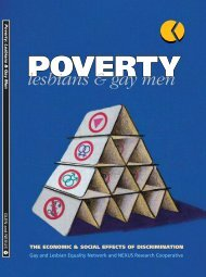 Poverty, Lesbians and Gay Men (1995) - Glen