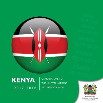 Kenya's Candidature to UNSC