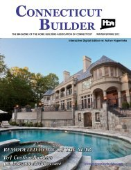Connecticut Builder - Winter/Spring 2012 Issue