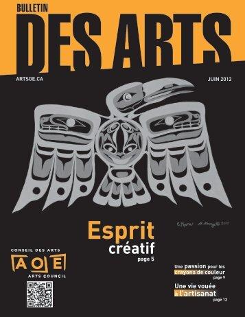 Juin 2012 - Arts Ottawa East / Arts Ottawa Est