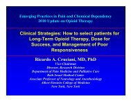 How to select patients for Long-Term Opioid Therapy, Dose for ...