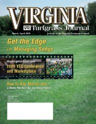 Journal of the Virginia Turfgrass Council March/April ... - The Paginator