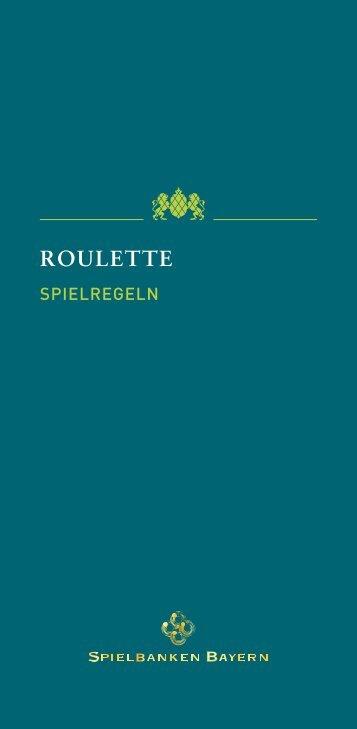 ROULETTE - Spielbanken Bayern