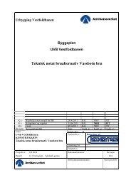Teknisk notat brualternativ Vassbotn bru - Jernbaneverket