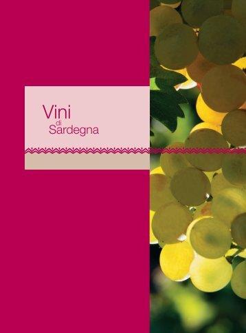 opuscolo vino - Sardegna Agricoltura