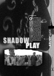 to download SHADOW PLAY study guide - Ronin Films