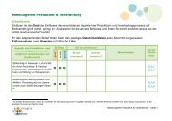 Produktion & Verarbeitung - Business and Biodiversity Initiative