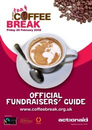 Official Fundraisers' Guide - ActionAid