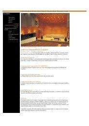 Auditorio Municipal Enric Granados - Arau Acústica