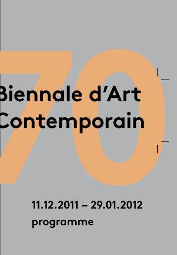 Télécharger le programme complet de la 70e Biennale