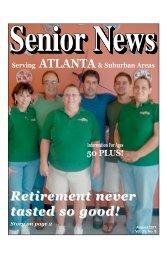 August - Senior News Georgia